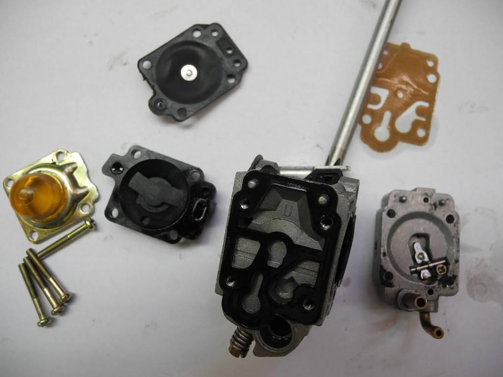 Мотокоса ремонт карбюратора своими руками