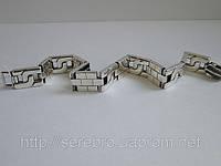 Стильный браслет из серебра