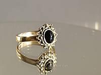 Капельное серебро - кольцо с агатом
