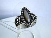 Перстень из черненого серебра