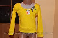 Трикотажная блуза для девочки. Интерлок