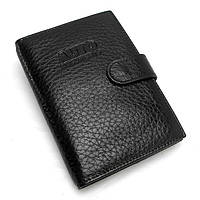 Обложка для документов кожаная паспорт права черная Desisan 102-011 Турция