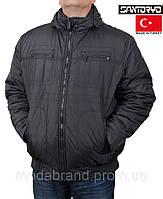Теплая мужская куртка осень-зима,с капюшоном.