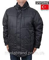 Куртка мужская больших размеров Santoryo-7148 серая