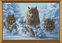 Набор для вышивания Волки