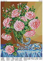 """""""Букет чайных роз"""" Схема для вышивки бисером"""