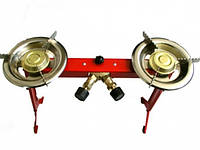 Двойная горелка (плитка) для польских газовых баллонов Asia - 2