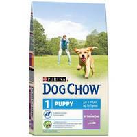 Dog Chow Puppy (Дог Чау Паппи) корм для щенков всех пород с ягненком 14 кг