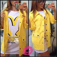 """Женское демисезонное кашемировое пальто """"Keller"""" с накладными карманами (3 цвета)"""