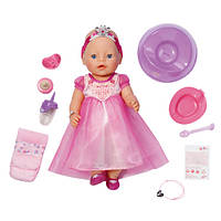 Новинка Кукла BABY BORN - ВОЛШЕБНАЯ ПРИНЦЕССА (43 см, с чипом и аксессуарами)