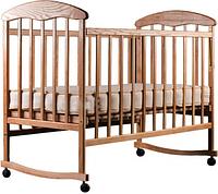 Детская кроватка Наталка Ясень Светлый