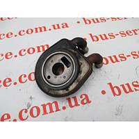 Масляный радиатор для Fiat Scudo 1.9 Diesel. Теплообменник, охладитель масла на Фиат Скудо 1.9 дизель.