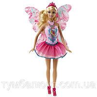 """Кукла Barbie """"Фея"""" серии """"Сочетай и смешивай"""" CBR13 в розовом (Коллекция 2014)"""