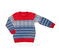 Теплый детский свитер.