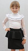 Школьная юбка с баской, фото 1