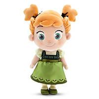 Мягкая игрушка малышка Анна Дисней - маленький - 33 см - Холодное сердце