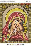 Схема для вышивания бисером или крестиком Богородица Касперовская