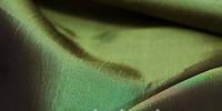 Тафта однотонная темно-зеленый хамелеон (портьера)