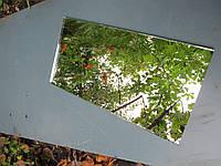 """Плитка зеркальная""""серебро""""500*600 фацет 15мм.декоративная зеркальная плитка.купить плитку."""