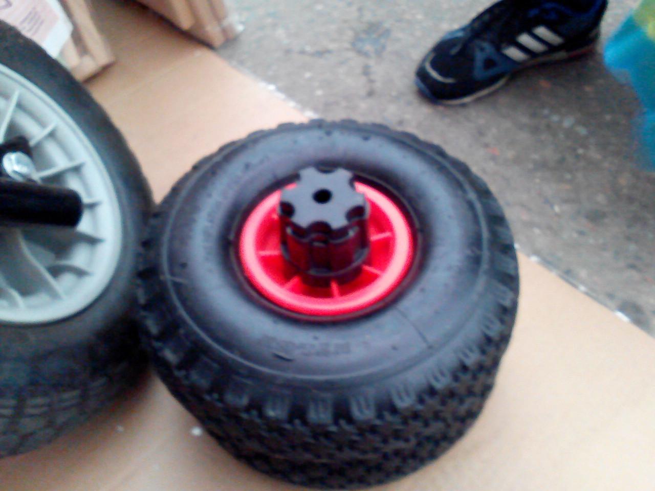 Как сделать из надувных колес не надувные 797