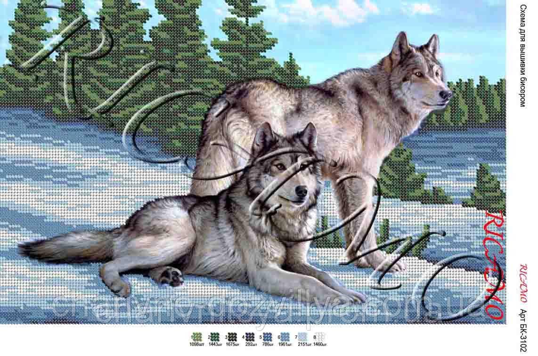 Пара волков в вышивке что это