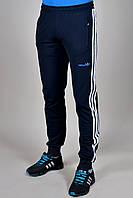 Брюки спортивные Adidas темно-синие