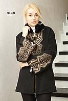 Зимнее женское пальто из кашемира модное ПД-34z