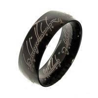 Черное кольцо всевластия, сталь, символ державности и верховной власти по роману дж. толкина «властелин колец»