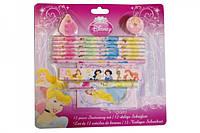 Канцелярский набор из 12 предметов Disney Princess