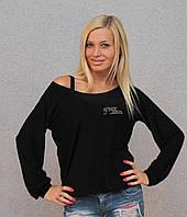 Женская кофта черная, фото 1