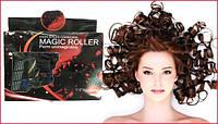 Волшебные бигуди самонакручивающиеся Magic Roller (Мэджик Роллер) для средних волос 18 шт купить в Украине