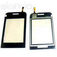 Сенсорная пленка + стекло Samsung E2652 черный