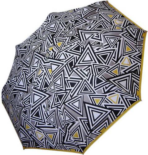 Женский зонт с ярким узором купола, полуавтомат, антиветер AIRTON (АЭРТОН) Z3615-27
