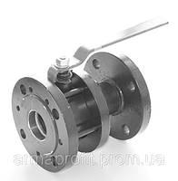 Кран шаровый стальной полнопроходной фланцевый КШУн-125 ЭТОН (11с67п) Ду125 Ру16