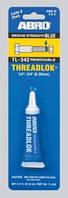 Фиксатор резьбы синий ABRO TL—342 6мл