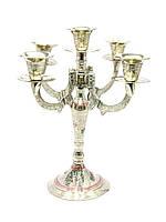 Подсвечник бронзовый цветной на 5 свечей
