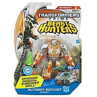 "Игрушка Рэтчет класса делюкс ""Охотники на Чудовищ"" - Ratchet/TFP/Beast Hunters/Deluxe/15CM"