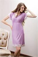 Сорочка Shato - 500 (женская одежда для сна, дома и отдыха, домашняя одежда, ночная рубашка)