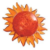 3D Crystal Puzzle - Солнце красное