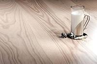 Паркетная доска Tastes of Life Ясень Milkshake Grande 1-пол., белый матовый лак