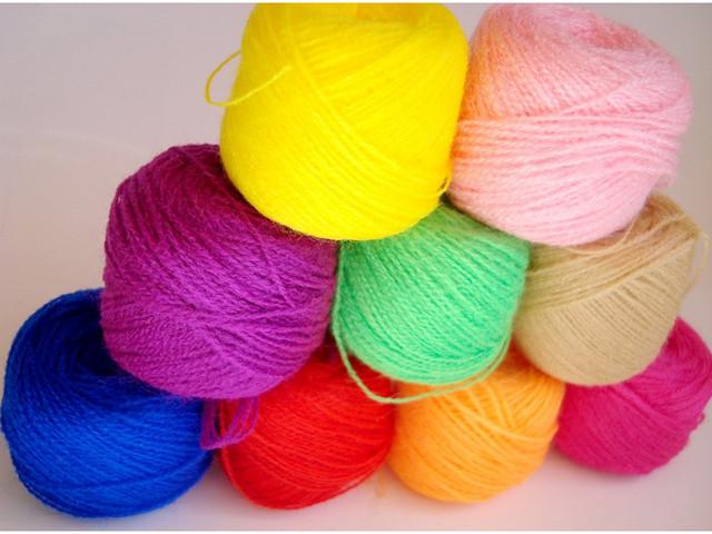 Нитки для вязания и вышивки 392