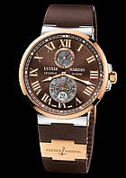 Часы Ulysse Nardin Maxi Marine Brown 109