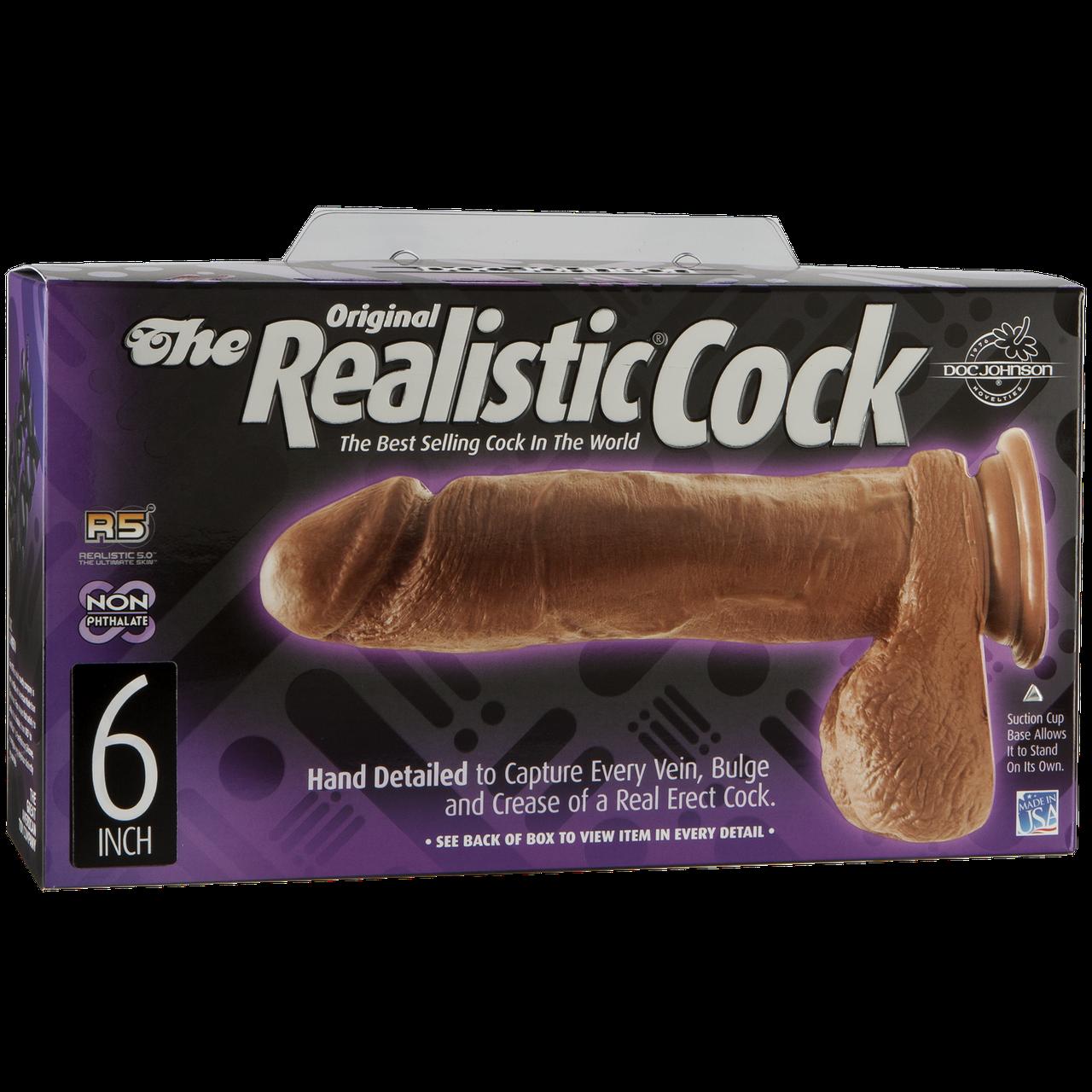 Фаллоимитатор the realistic cock 25 фотография