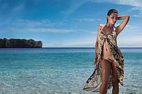 Пляжная мода, купальники, парео