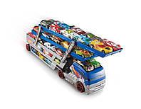 Hot Wheels Хот Вилс гараж-трейлер на 40 машинок