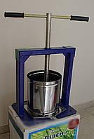Ручной пресс для отжима сока Виллен (6 литров), соковыжималка DI
