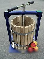 Ручной пресс для отжима сока дубовый Виллен (20 литров) DI
