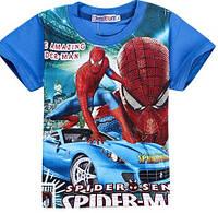 Футболка для мальчика 2-3 года с Человеком пауком
