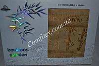 Махровая простынь Gulcan Bamboos Garden-Bej Бамбук (160x220) - Турция