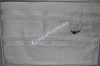 Бамбуковая махровая простынь Julie Bamboo-White Бамбук (160х220) - Турция